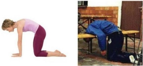 Yoga is compared to being drunk