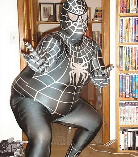 Fat Spiderman